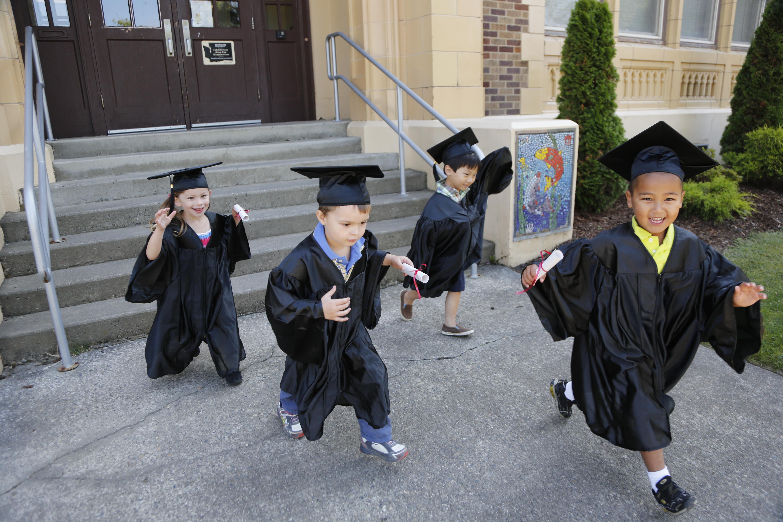 Kid grads