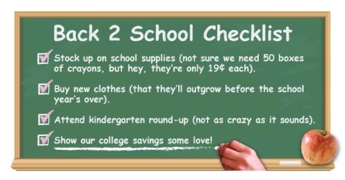 Back2SchoolPlanning